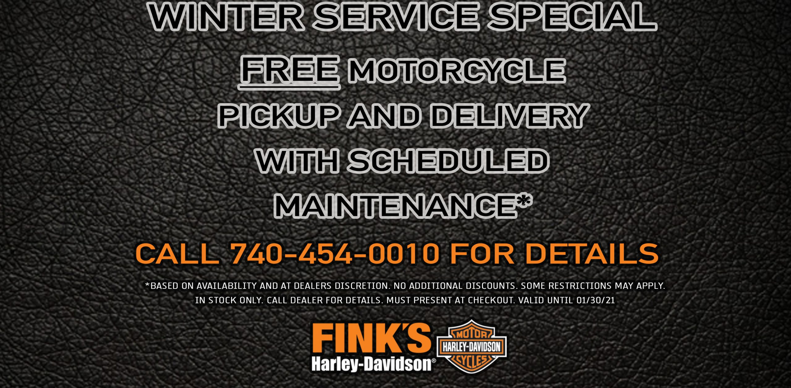 Online Coupons | Fink'S Harley Davidson® Pertaining To 454 Retail Calendar 2021