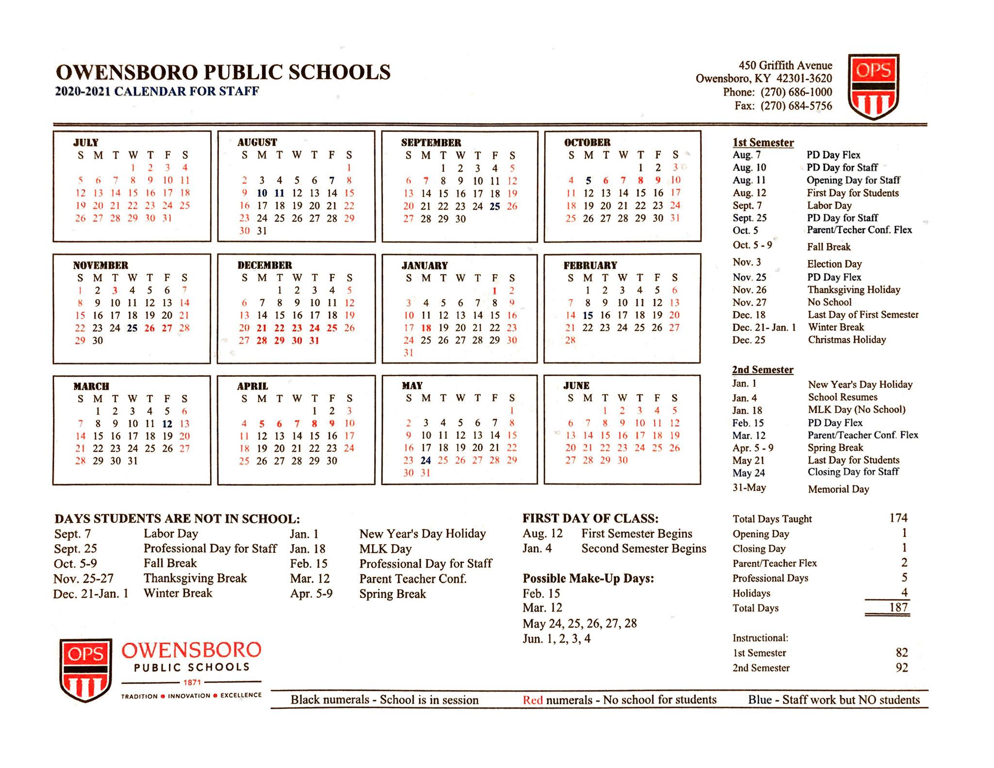Ops Calendar 2021 2022 | Calendar 2021 Within Mnps 2021 Printable