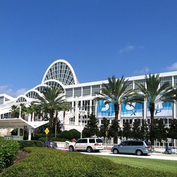 Orange County Convention Center – Orlando, Fl Inside Convention Center In Orlando Fl Schedule