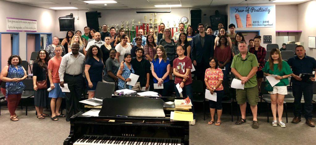 Parents - Diamond Bar High School Choir regarding Diamond Bar High School Calendar