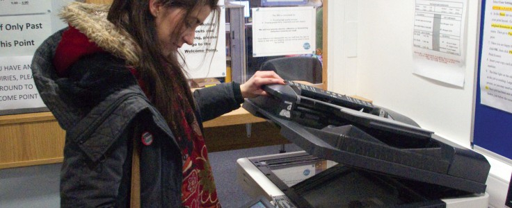 Photocopying & Printing - Gusrc In Glasgow University Term Time 2021