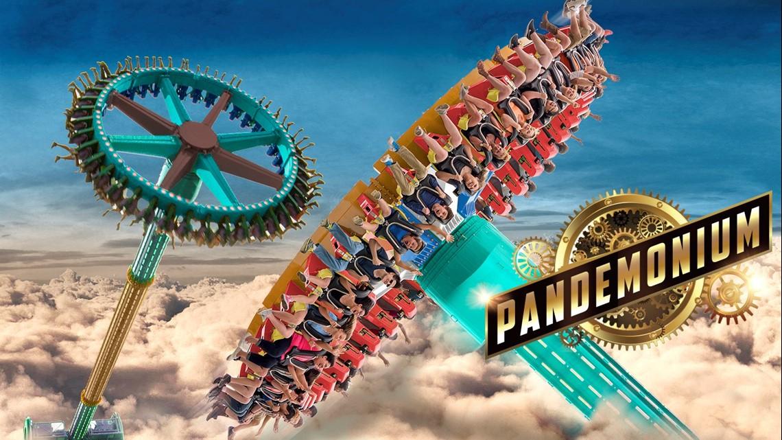 Photos   Six Flags Over Georgia'S Pandemonium Ride   13Wmaz With Regard To Six Flag Over Ga Calendars