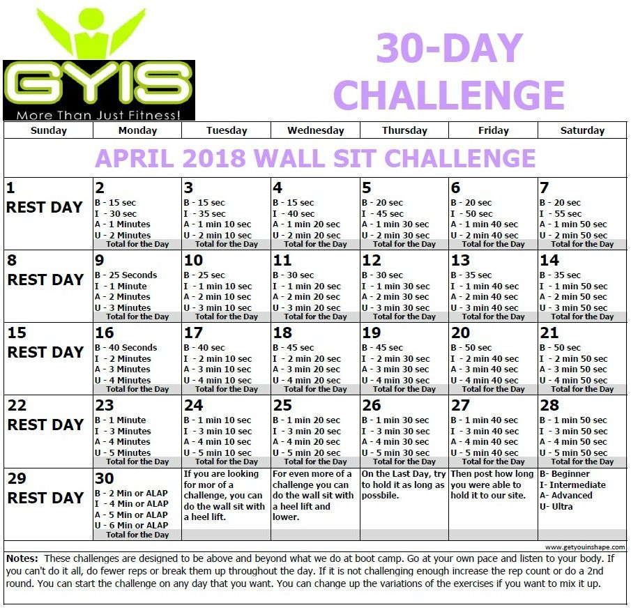 Pinkayla Norton On Workout Challenge In 2020   Wall With 30 Day Sit Up Challenge Pdf