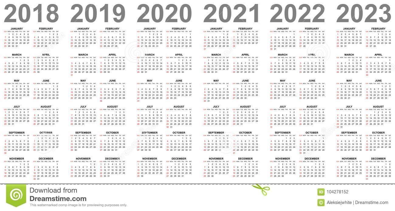 Printable Calendar For 2019/2020/2021/2022/2023 - Calendar Regarding 4 5 4 Retail Calendar 2019 2022