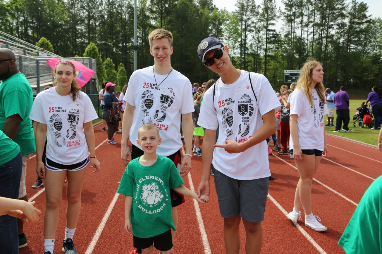 Ravenscroft Hosts Wake County Special Olympics - Carolina in Wake County Track Out Calendar