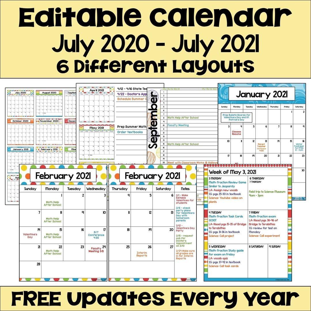 San Diego School Calendar 2021 | Printable Calendar 2020 2021 For University Of Phoenix Schedule For 2021