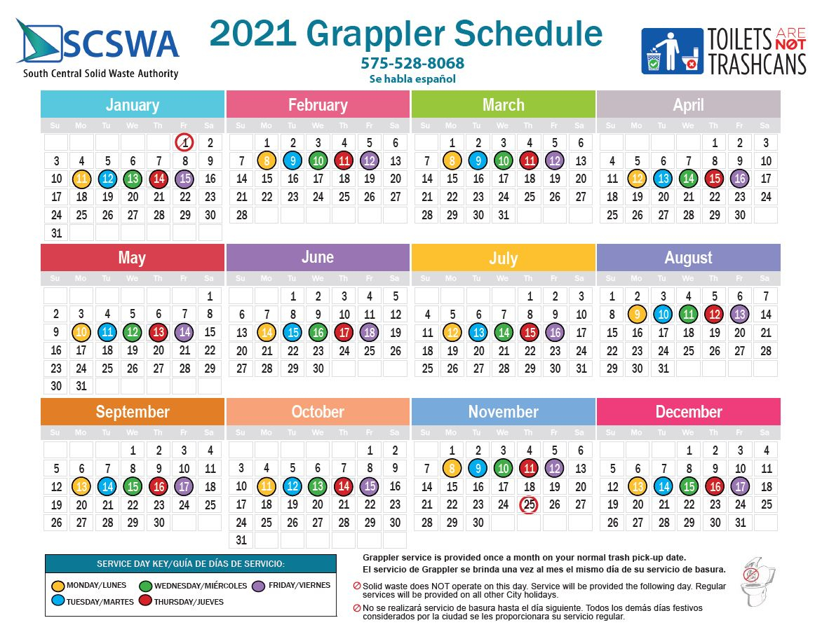 Scswa Grappler Calendar Year 2021 - Scswa with regard to Las Cruces Public School Calendar 2021