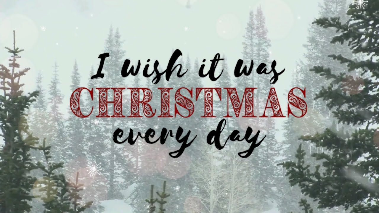 Simple Plan - Christmas Every Day (Lyric Video) - Youtube Inside Every Day Is A Holiday