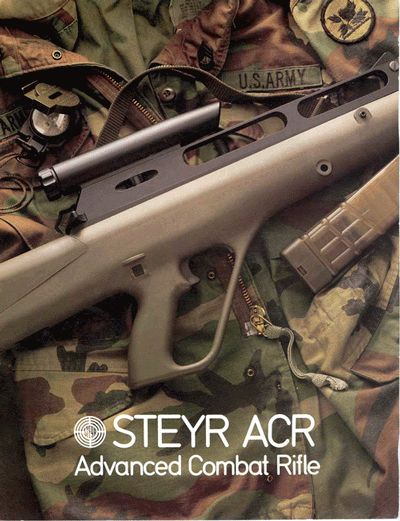 Steyr Acr (Advanced Combat Rifle): Photos, History With Regard To Acr Case In Point