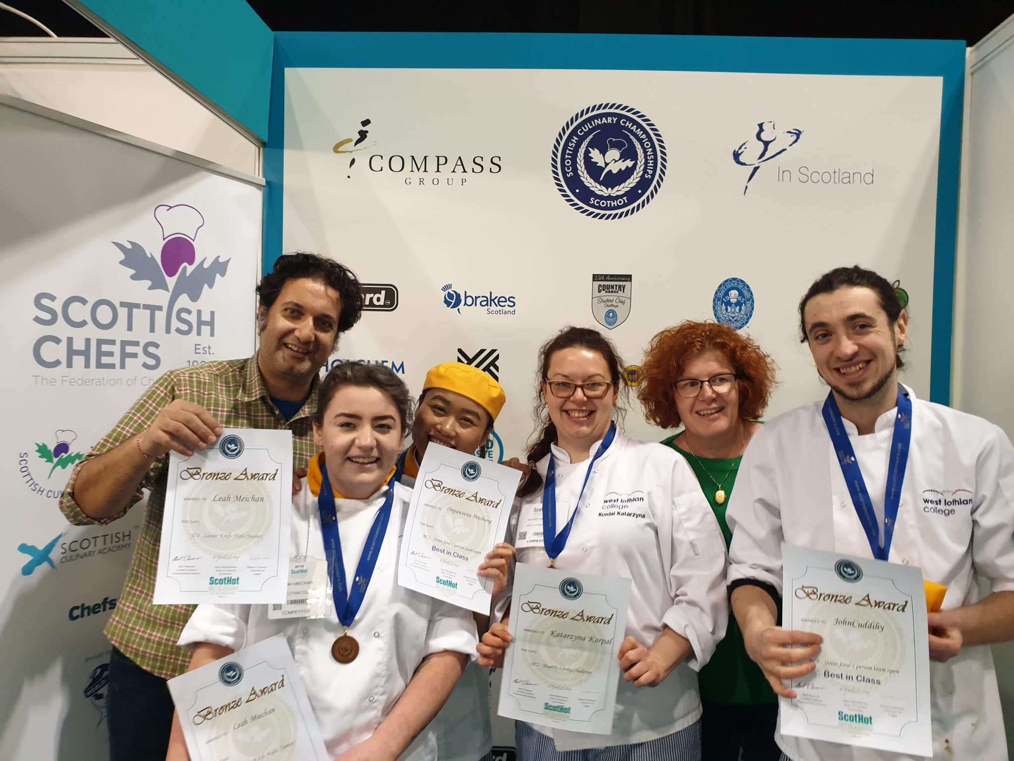 Student Success At Scottish Culinary Championships For Glasgow University Term Time 2021