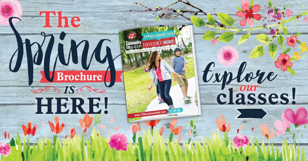 The Spring Brochure Is Here!! For Elk River School District Calendar 2020 2021