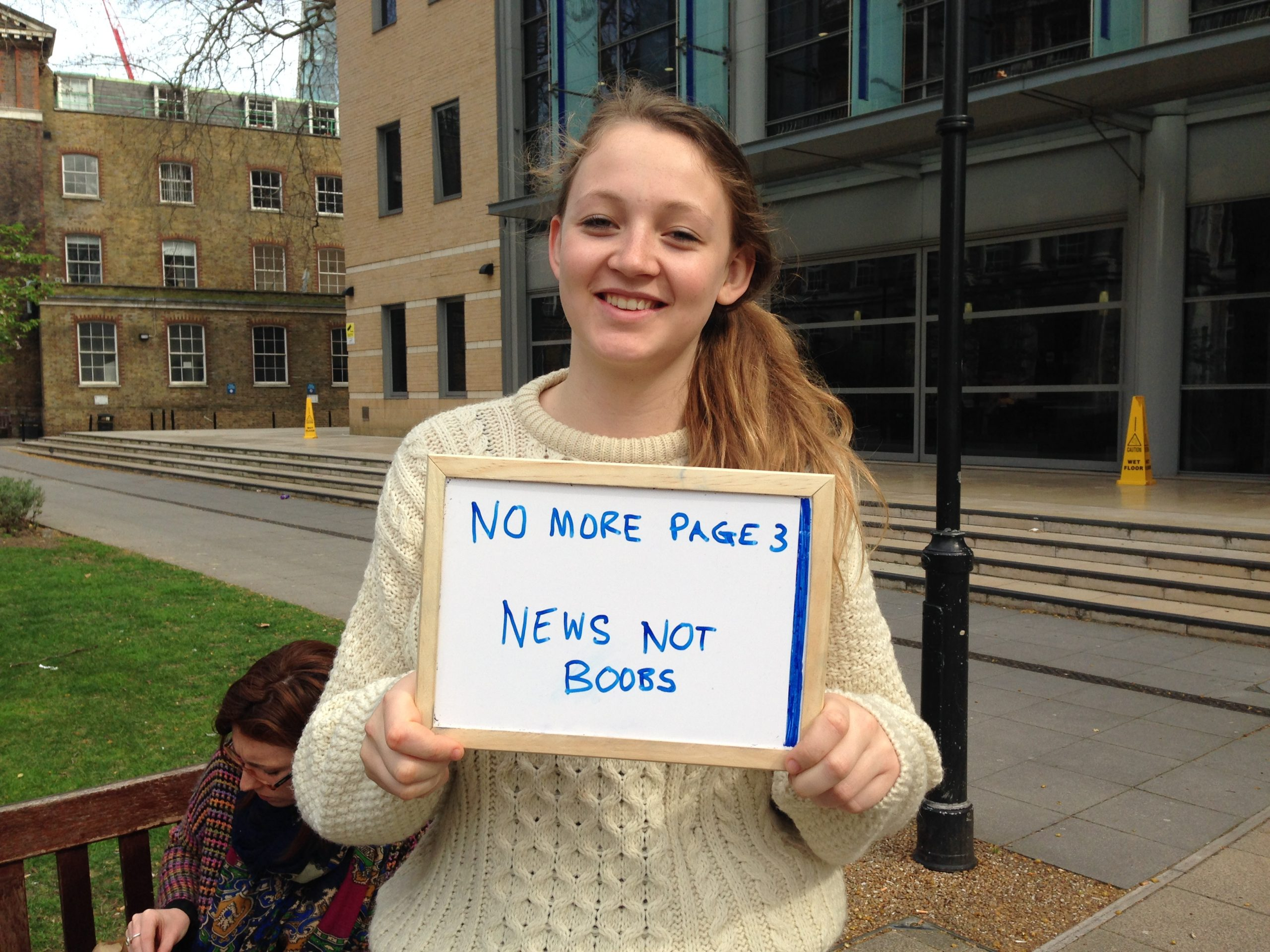 Twelve Things The No More Page 3 Campaign Is Not For The Sun Girls Page 3