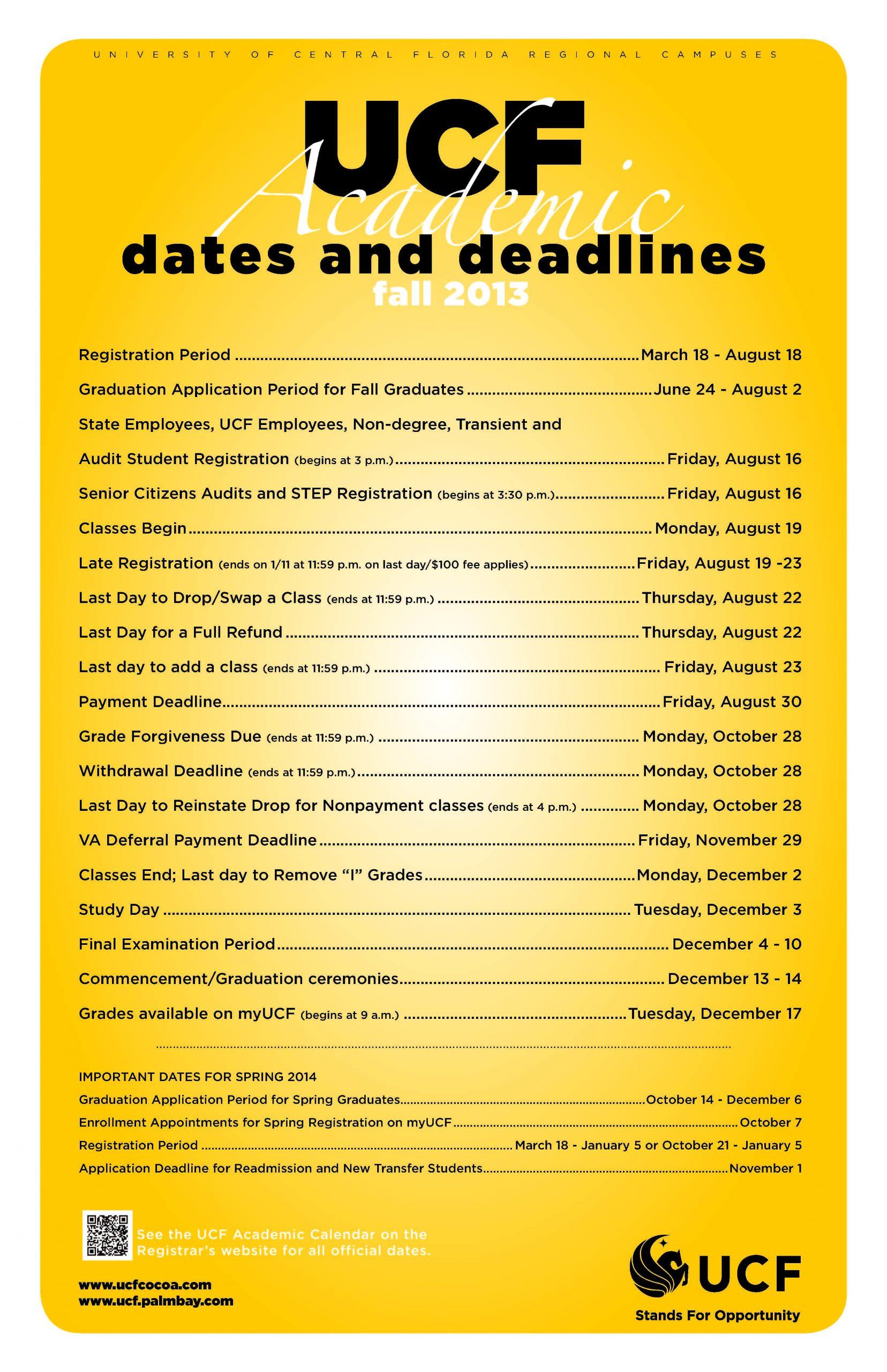 Ucf School Calendar   Exam Calendar For Bay County School Calendar 2020/2021