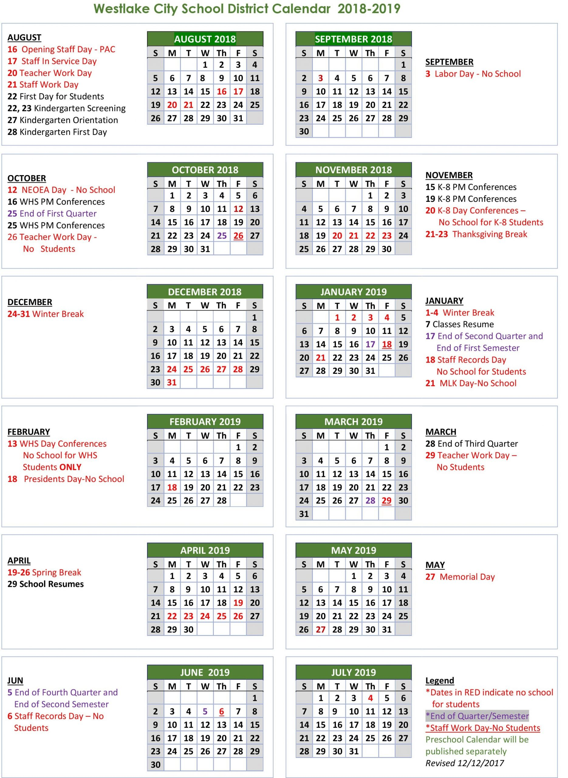 Unit 5 Calendar 2019 : Free Calendar Template Pertaining To Sacramento City School District Calendar 2021