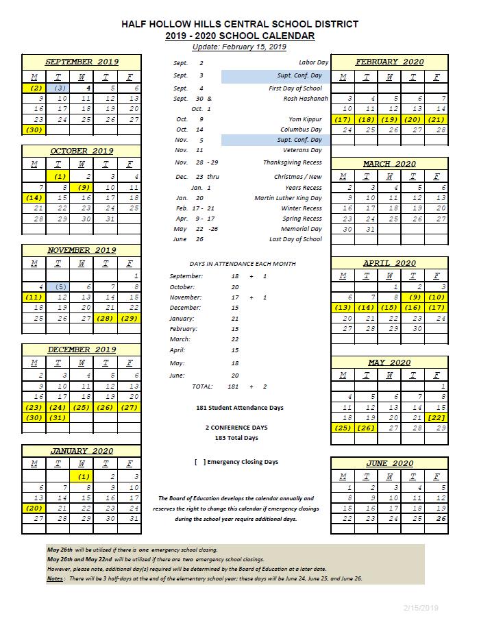 Vanderbilt Academic Calendar 2019 2020 - Calendar Online 2019 Throughout Bay County School Calendar 2020/2021