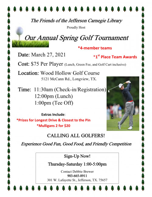 Visit Jefferson Texas Events Calendar Inside Marion County Fl Spring Brake 2021