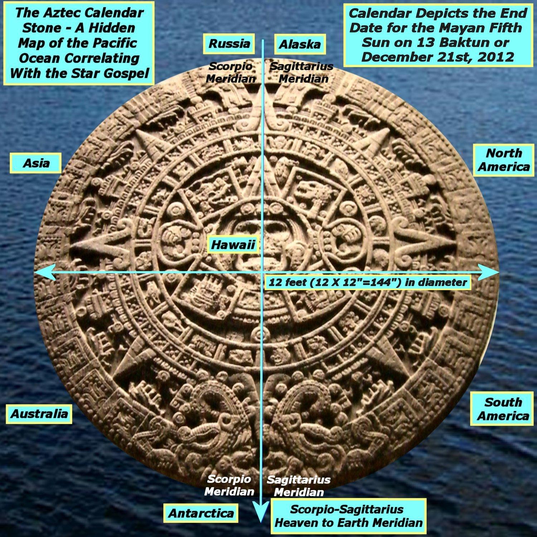 Walk On Almanac & Calendars On Pinterest   Aztec Within How To Read A Mayan Calendar Round