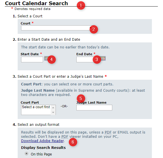 Webcrims Login: A Guide To Access Criminal Case File Within Court Calendar By Defendant Name