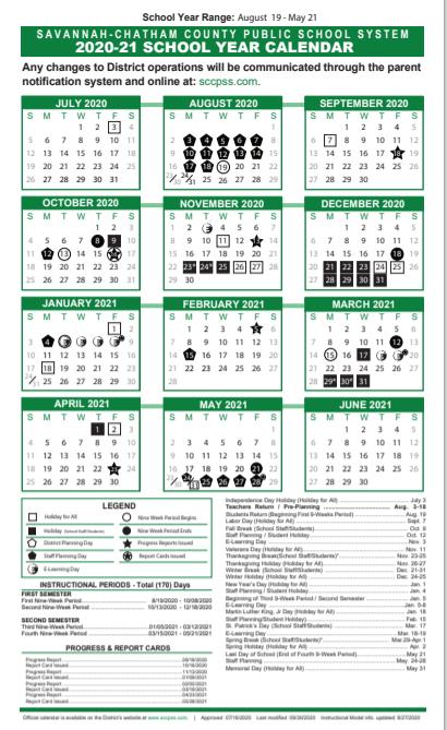 White Bluff Elementary School Sy 2020 21 Calendars In 2021 Pine Bluff School District Calendar