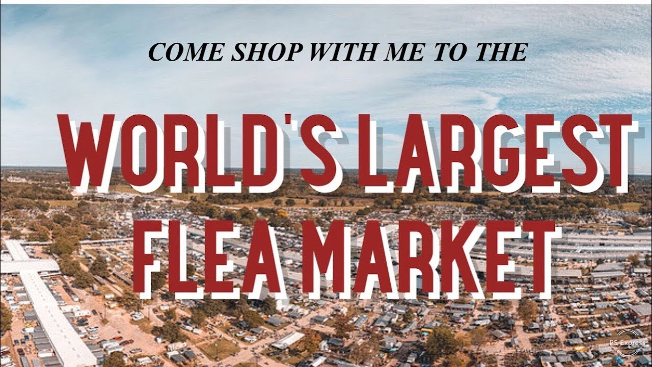 World'S Largest Flea Market Part 1/ Shop With Me/First For Canton Trade Days 2021