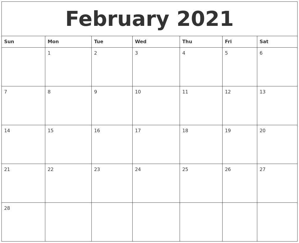 2021 Editable Calendar February March April May | Monthly In Printable Calendar March April May 2021