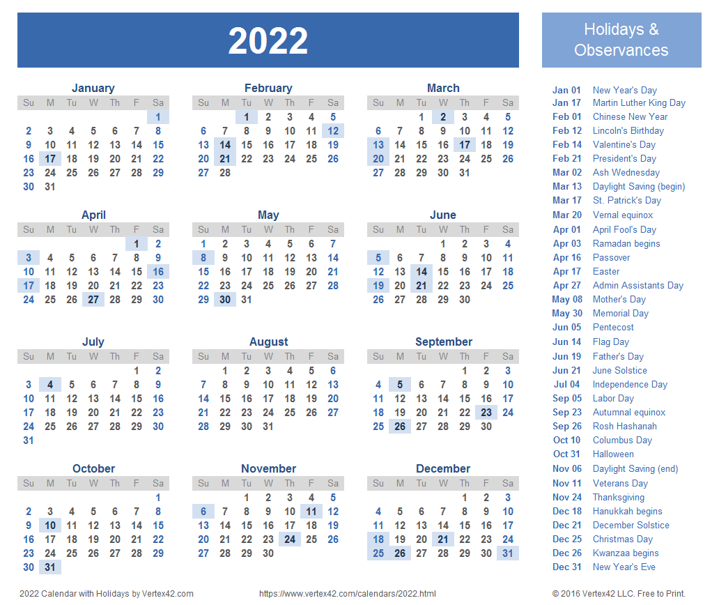 2022 Calendar Templates And Images Throughout Half Page 2022 January Calendar