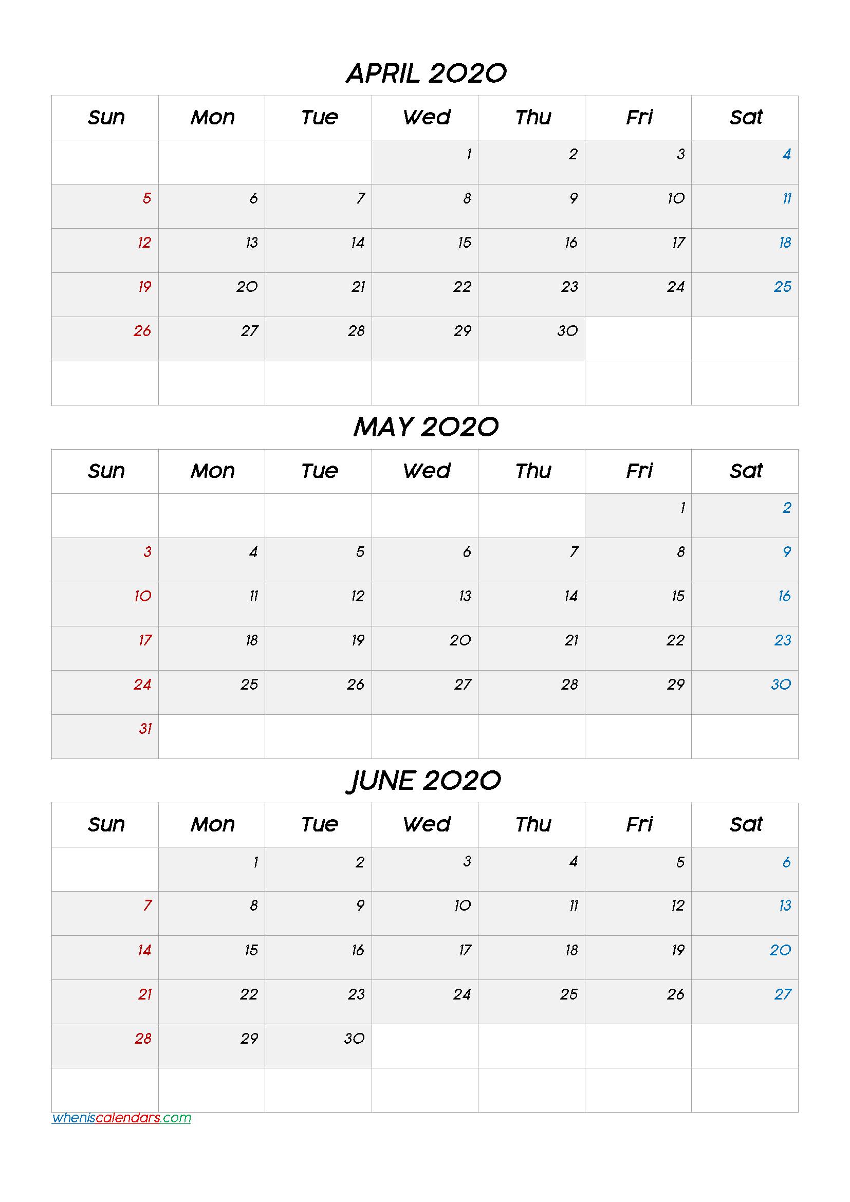 April May June 2021 Three Month Calendar No.m21Cc6 In 2021 Calendar March April May
