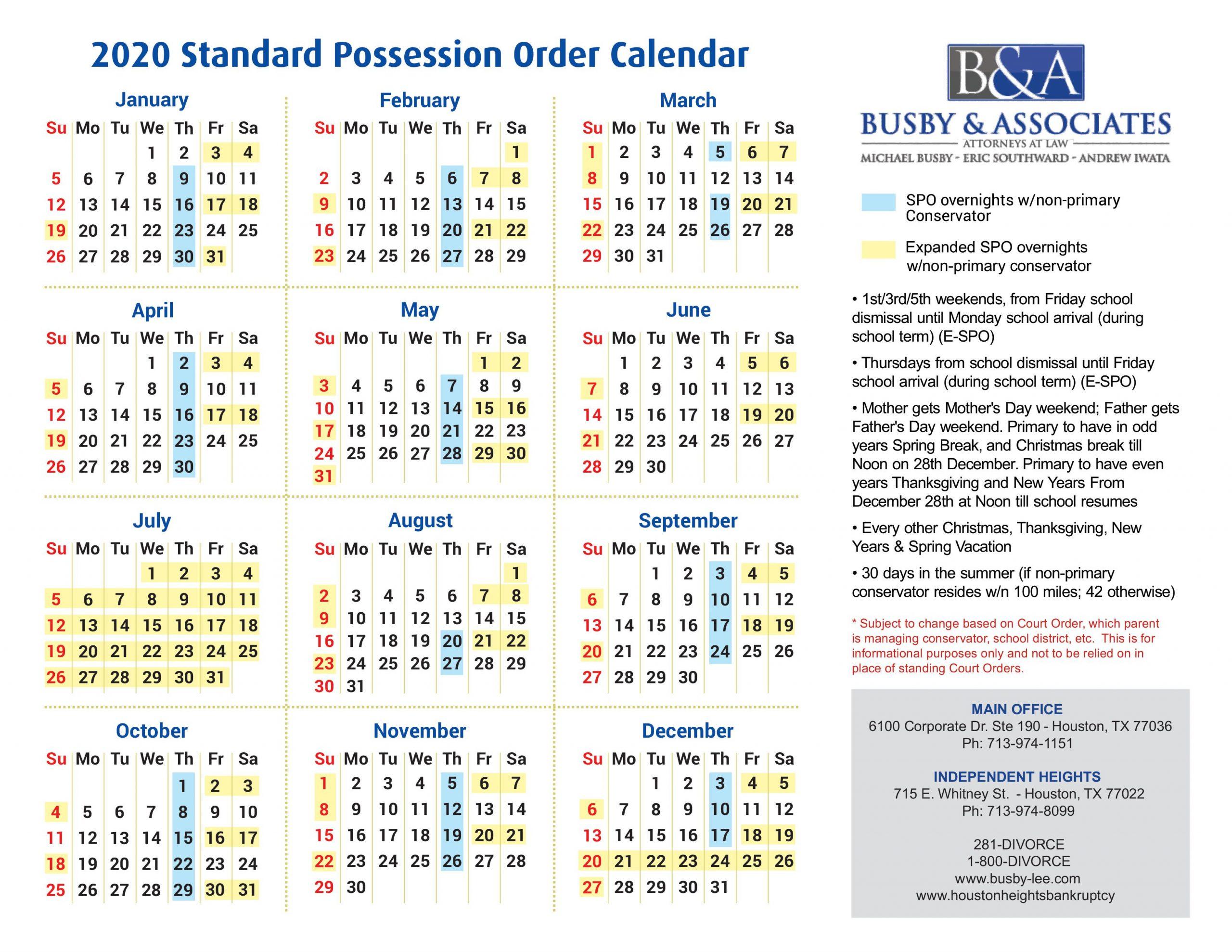 Attorney General Texas Calender   Printable Calendar 2020 2021 Pertaining To Nc Court Calendar Query