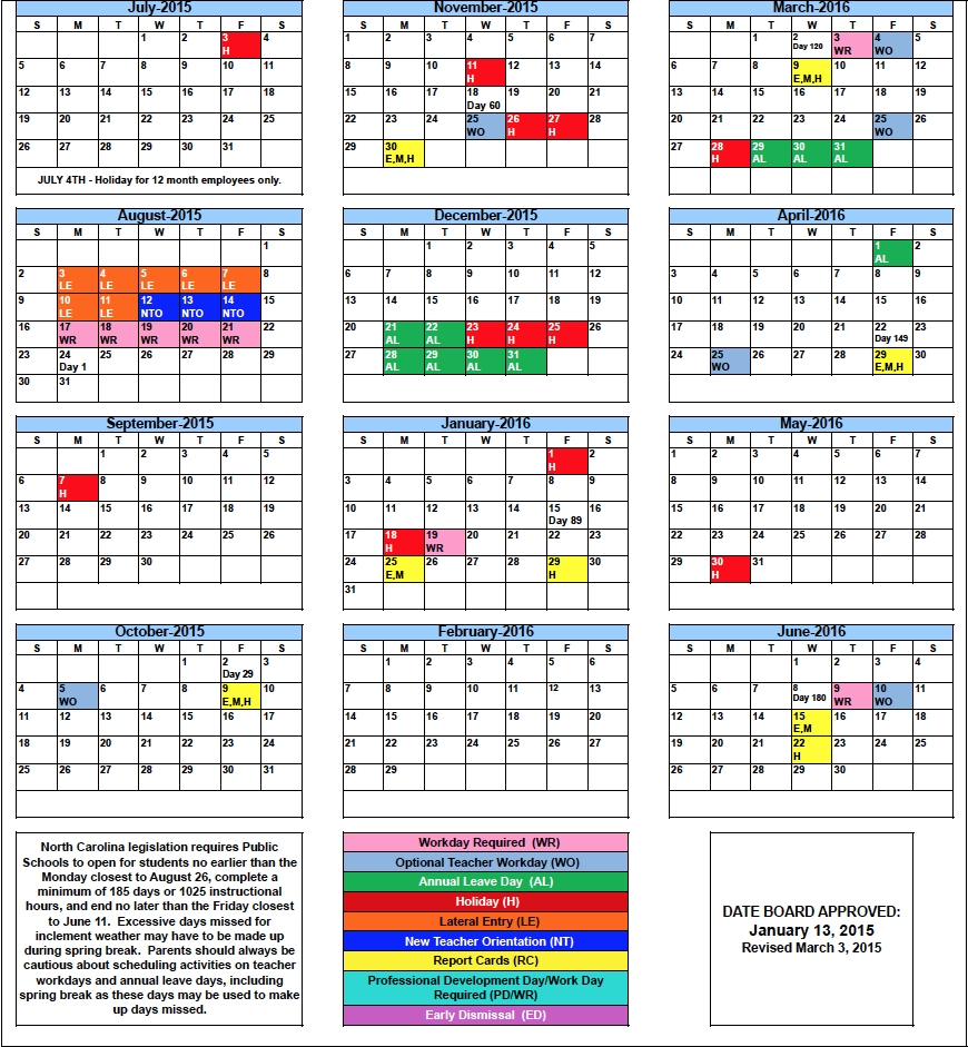Clayton County Schools Calendar | Qualads Pertaining To Nc District Court Calendar