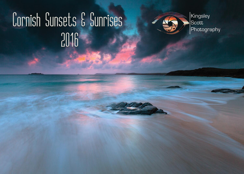 Cornish Sunset & Sunrise Calendar 2016 | Cornish Wall Art Within Sunset Sunrise Printable
