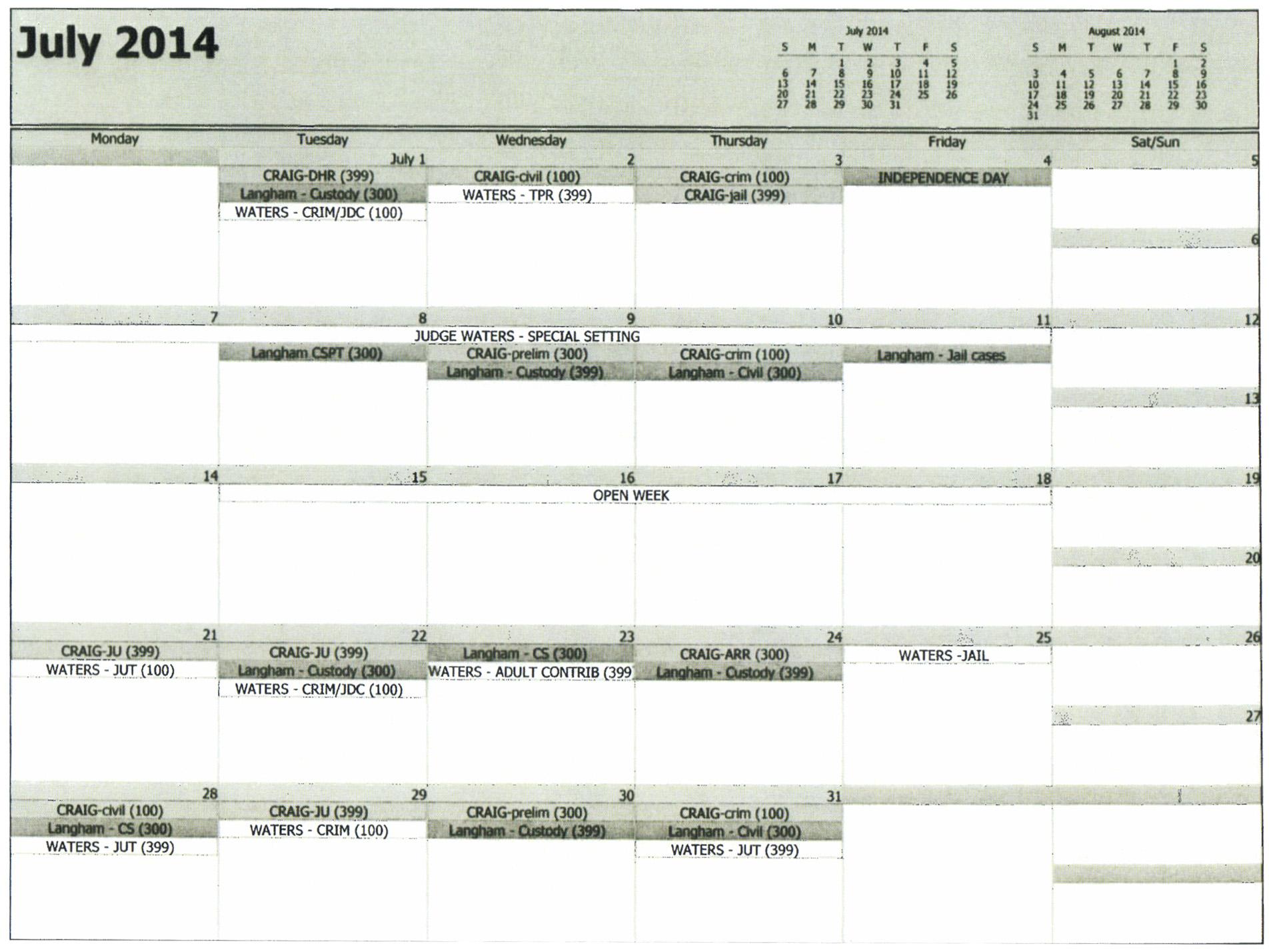 Court Calendar | Morgan County District Attorney With Nc District Court Calendar