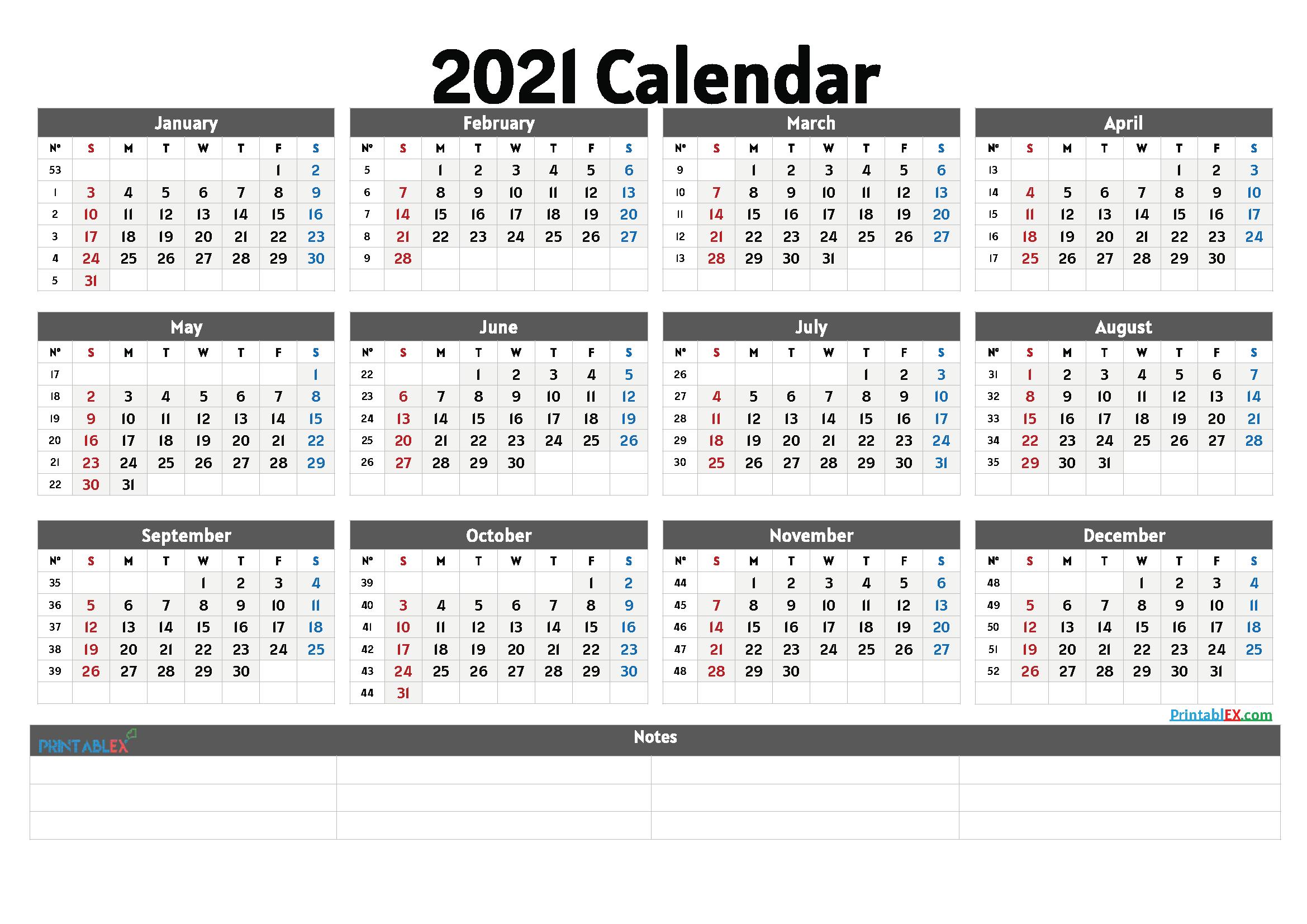Cute Printable Calendar 2021 - 21Ytw27 - Free Printable Intended For View January 2021 Calendar
