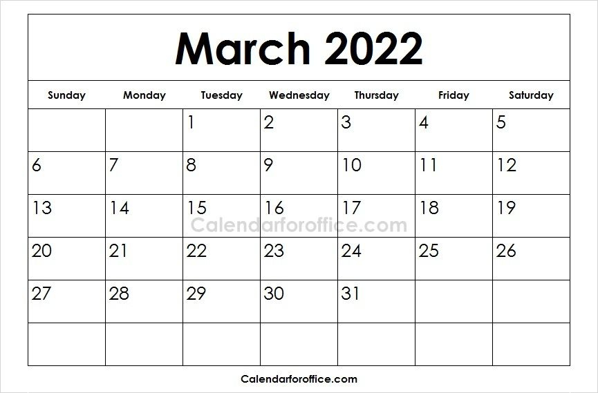 Download Free Printable 2022 March Calendar In Different Pertaining To 2022 Calendar Feb March April