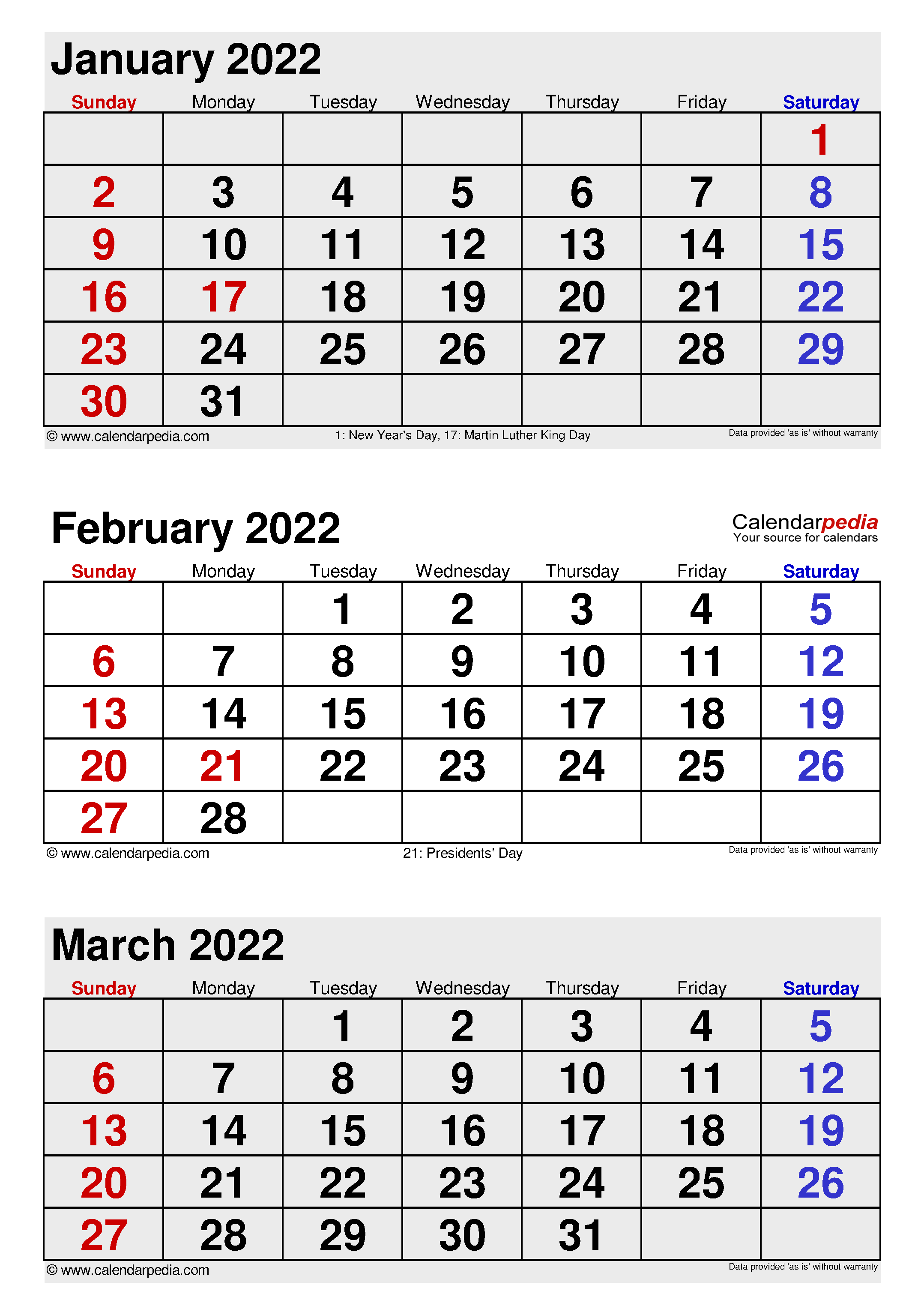 February 2022 Calendar   Templates For Word, Excel And Pdf Within Printable Februaryy 2022 Calendar