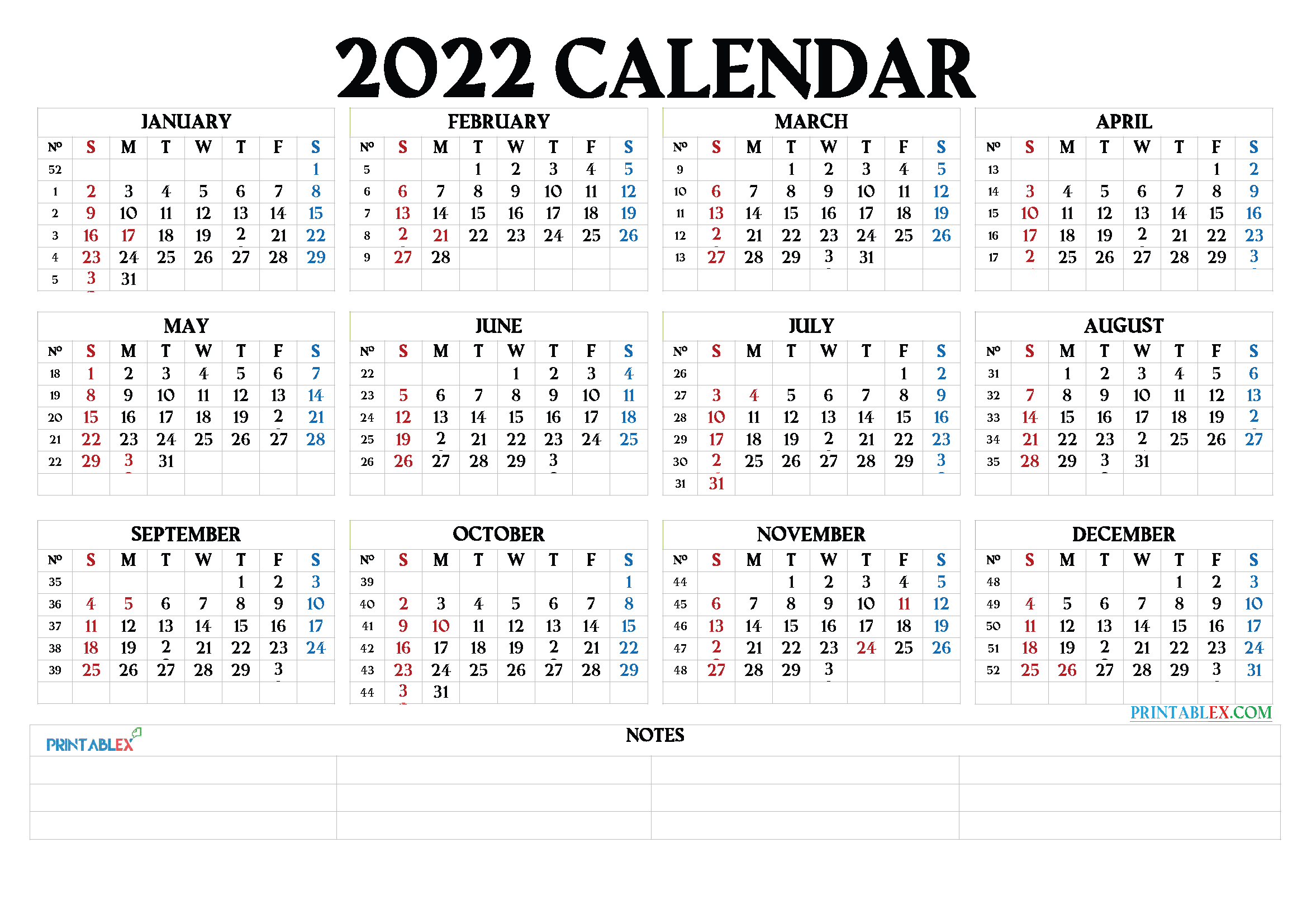 Free Printable 2022 Calendarmonth – 22Ytw64 Intended For January 2022 Printable Calendar Cute