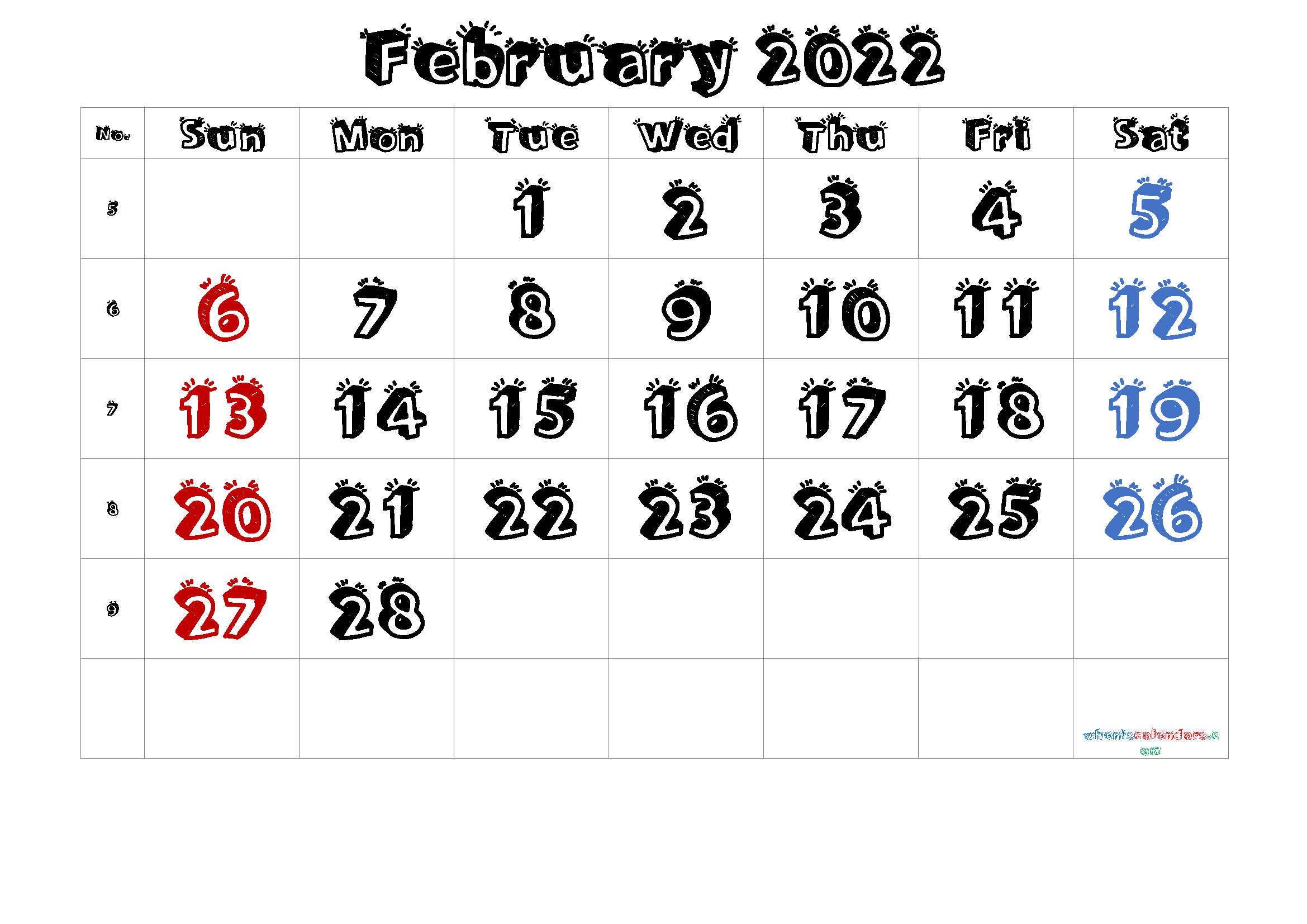 Free Printable Calendar February 2021 2022 And 2023 With February March April May 2022 Calendar