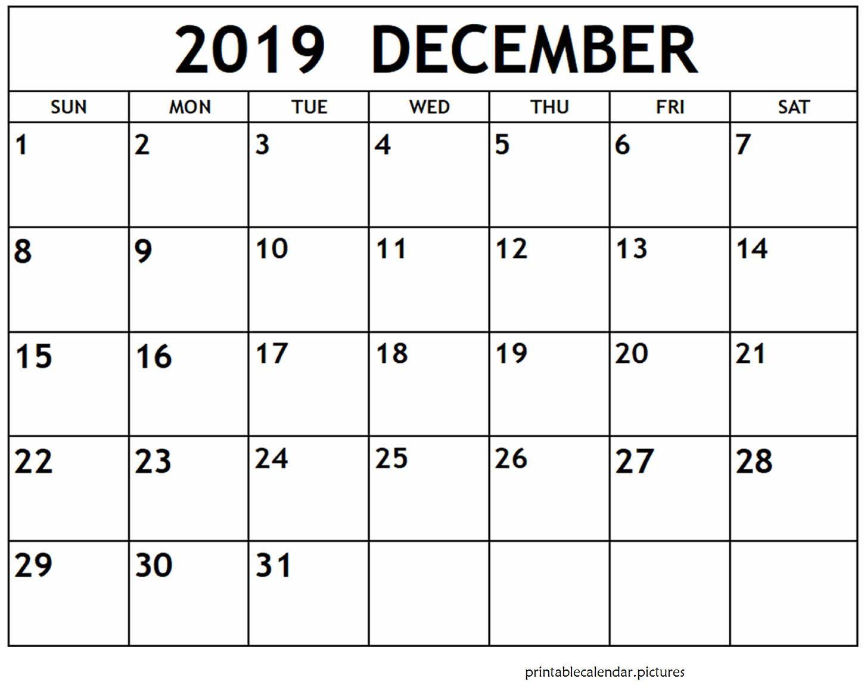 Free Printable December 2019 Calendar | June Calendar with regard to December To March Calendar