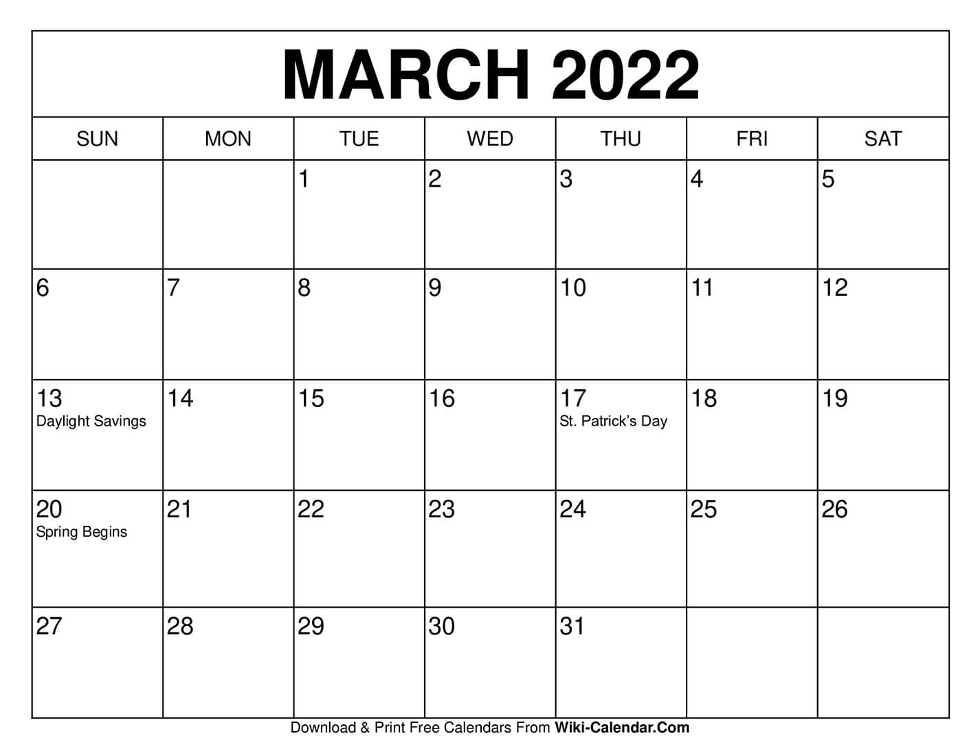 Free Printable March 2021 Calendars With Regard To Calendars March April And May 2022 Calendar
