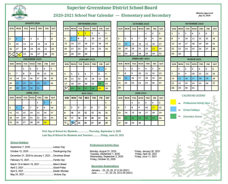 Green Bay School District 2020 Calander | Printable pertaining to University Of Phoenix Calendar 2021