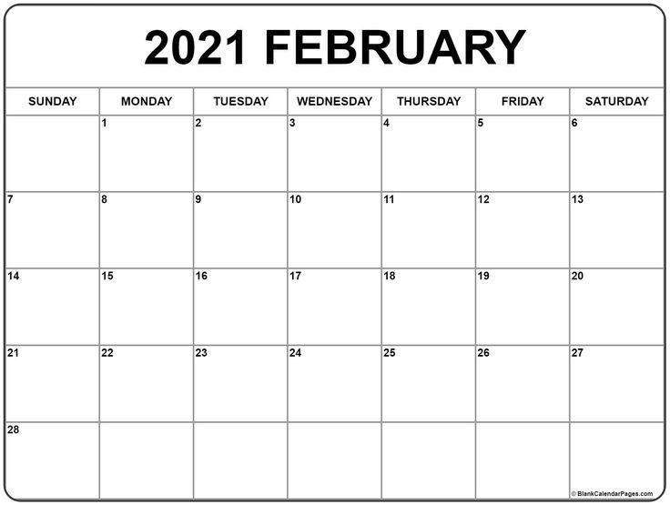 January 2021 Calendar Usa   Calendar Printables, Monthly Intended For View January 2021 Calendar