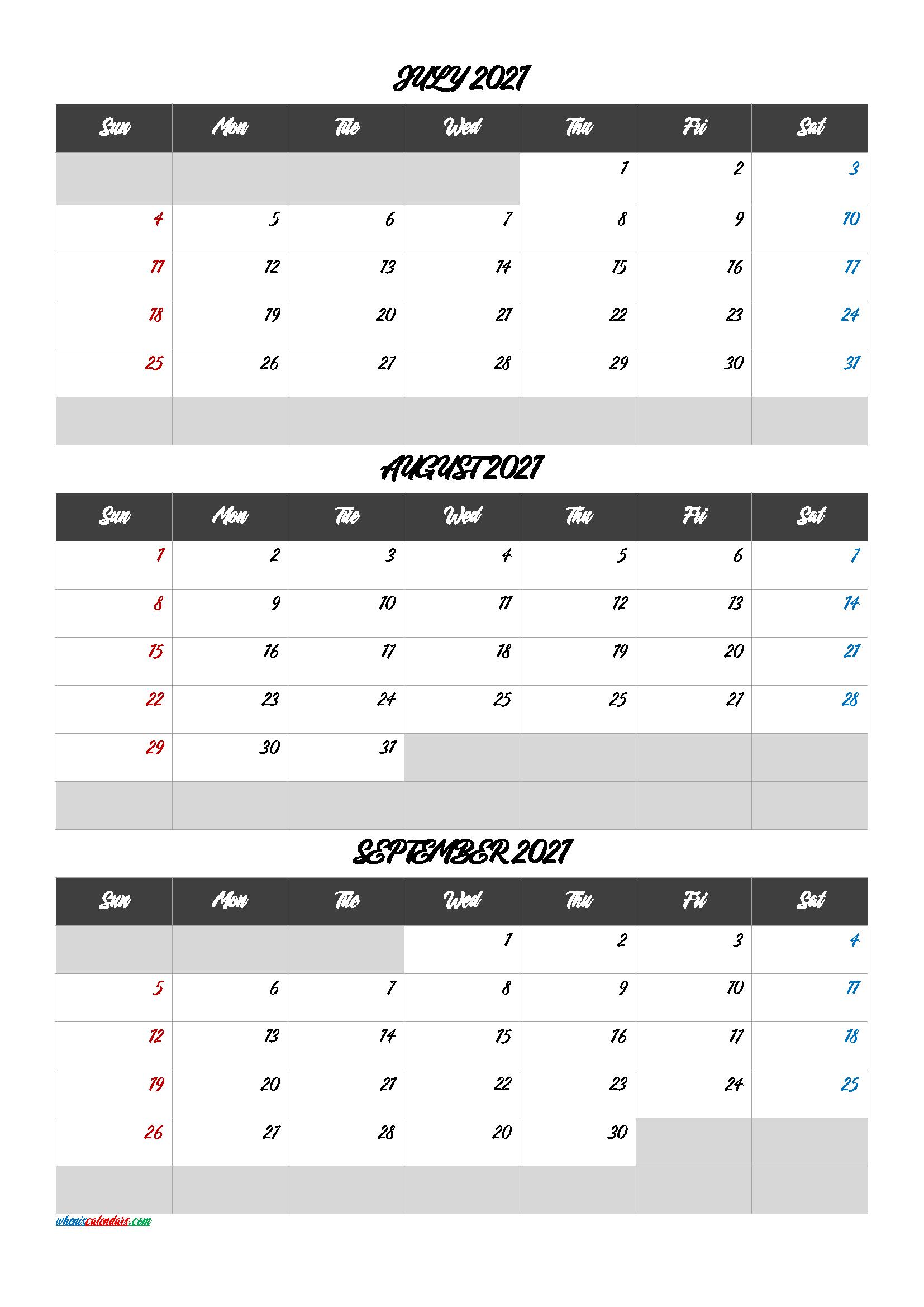 January February March 2021 Printable Calendar [Q1 Q2 Q3 Q4] With January February March April 2021 Calendar