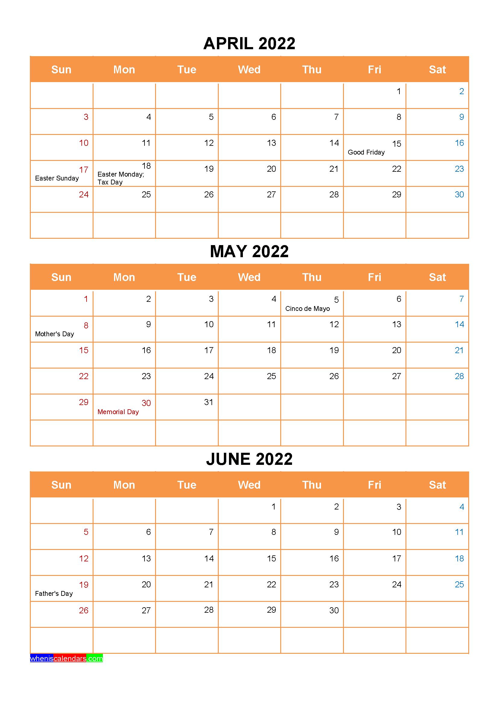 January February March 2022 Calendar With Holidays Intended For January February March April May 2021
