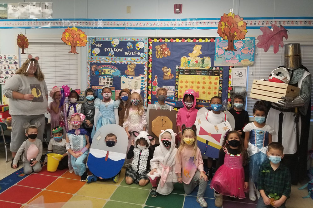 Kindergarten Students Bring Storybook Characters To Life throughout Downey Private Schools Last Day Of School 2021