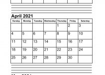 March April May 2021 Calendar Printable Pdf Word Excel Format with regard to January February March April 2021 Calendar