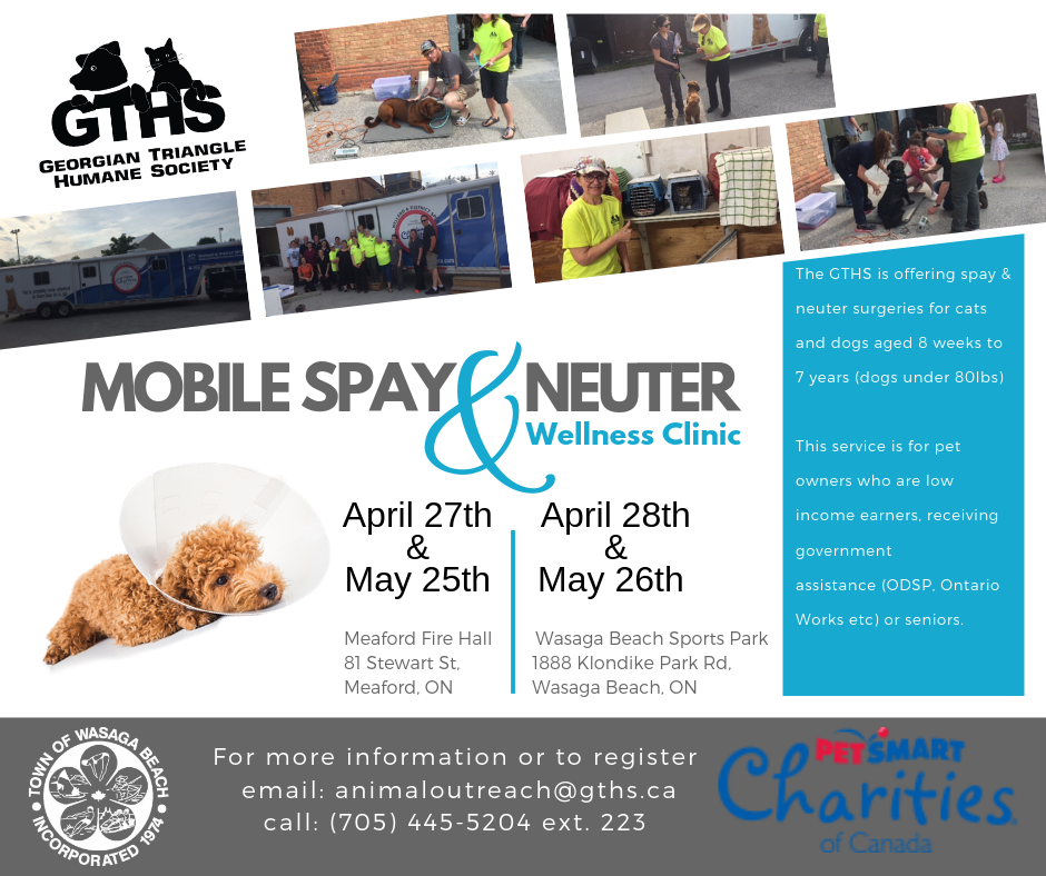 May 2019 Mobile Spay/Neuter & Wellness Clinic – Georgian In 445 Retail Calendar 2022