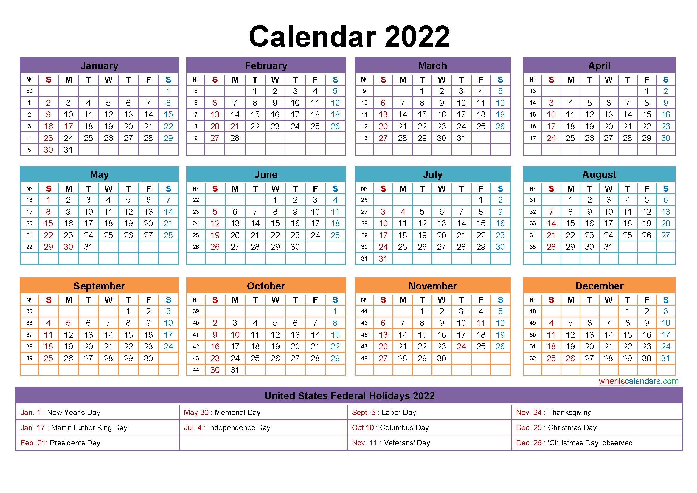 Mini Desk Calendar 2022 Free Printable Throughout Half Page 2022 January Calendar