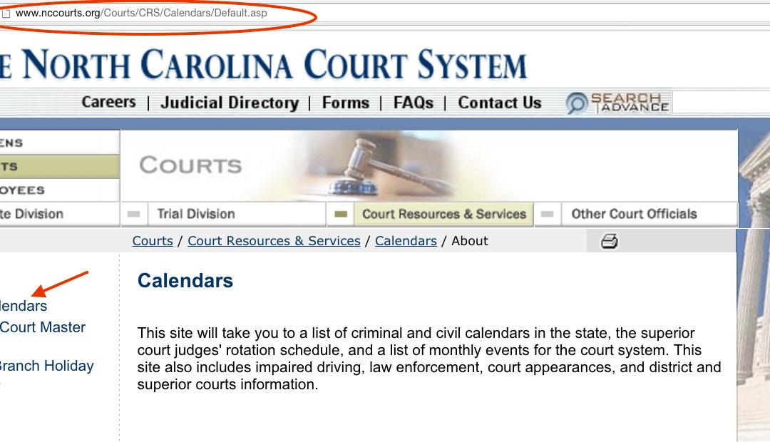 North Carolina District Court Calendar - Calendar Template Within Nc District Court Calendar
