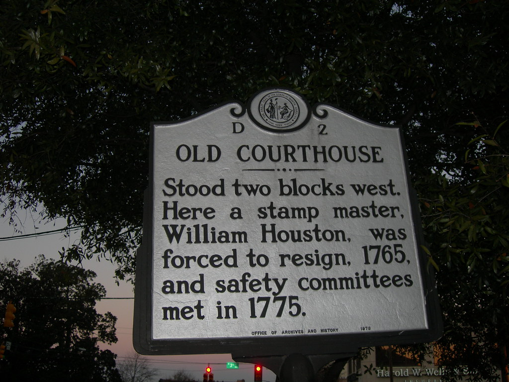 Old New Hanover County Court House Marker | Wilimington With New Hanover Family Court Calander