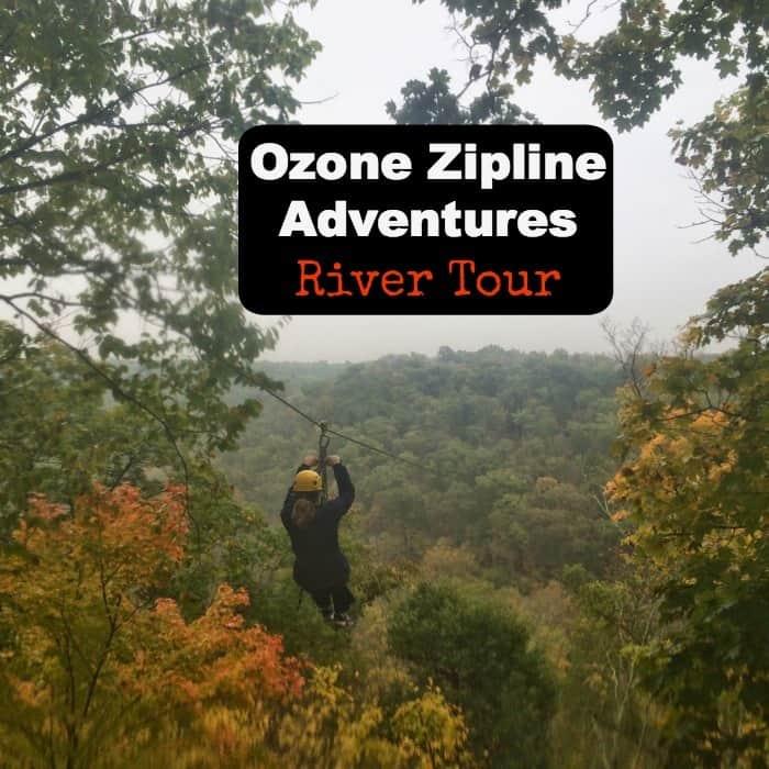 Ozone Zipline Adventures River Tour with regard to Fall Break Warren County Ky