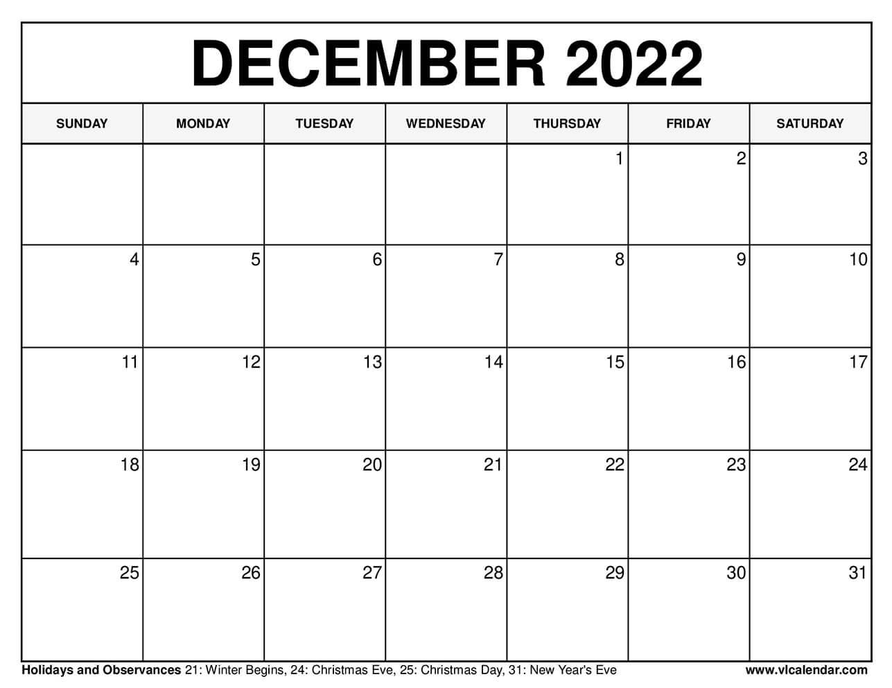Printable December 2020 Calendars Regarding December January Calendars 2022 2022